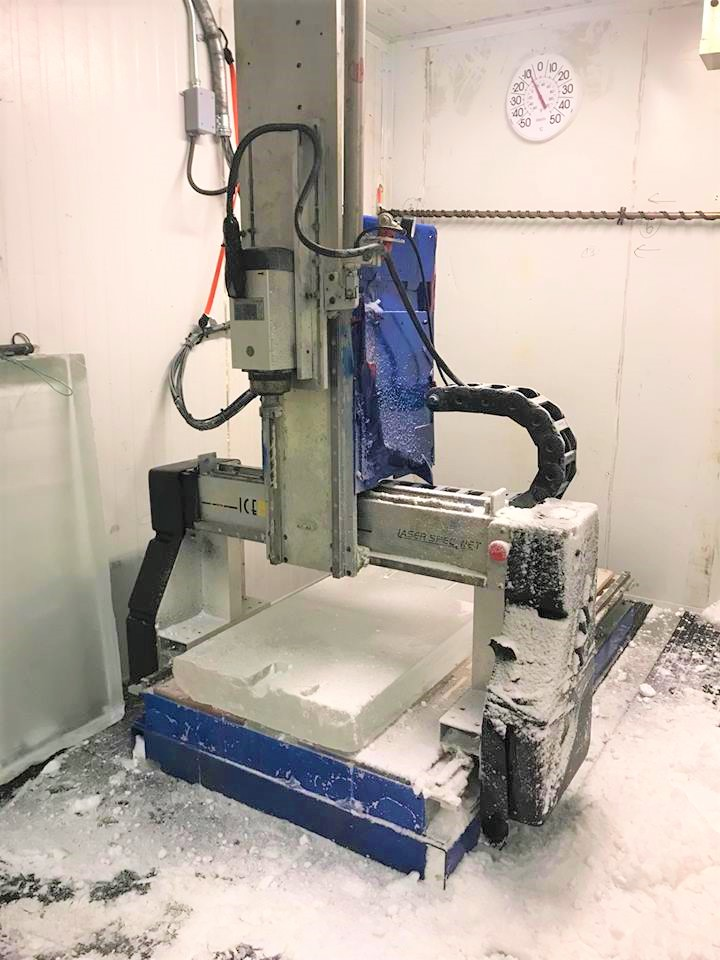 CNC ICE SCULPTING ROUTER