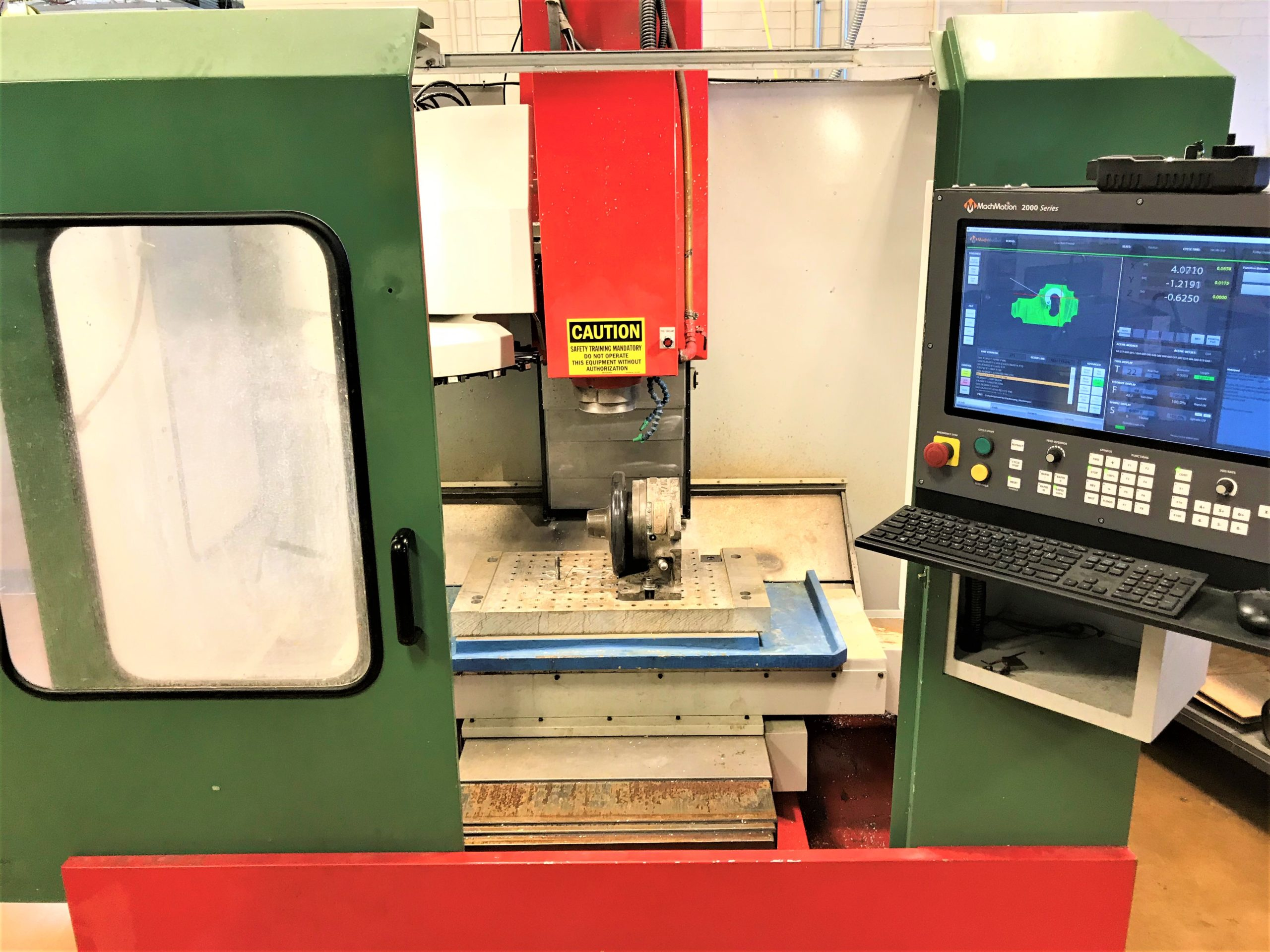 ExCel PMC-5V Vertical Machining Center