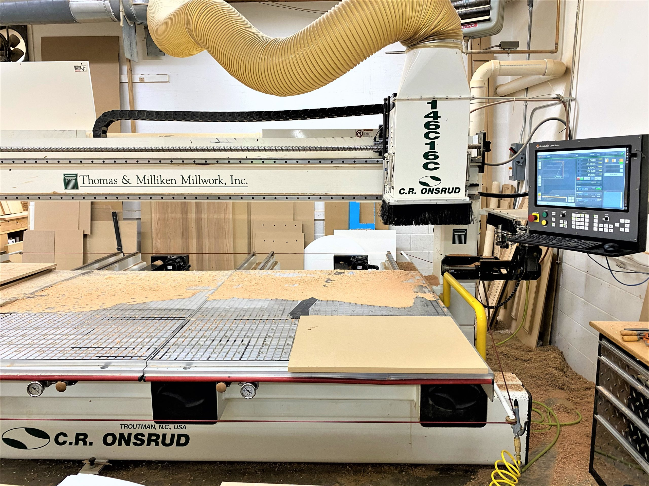C.R. Onsrud 146C16C Dual Table Router
